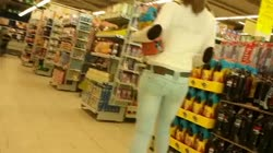 SEXY CANDID TIGHT ASS IN SHOP
